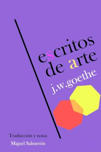Escritos de arte Johann Wolfgang von Goethe » Pangea Ebook