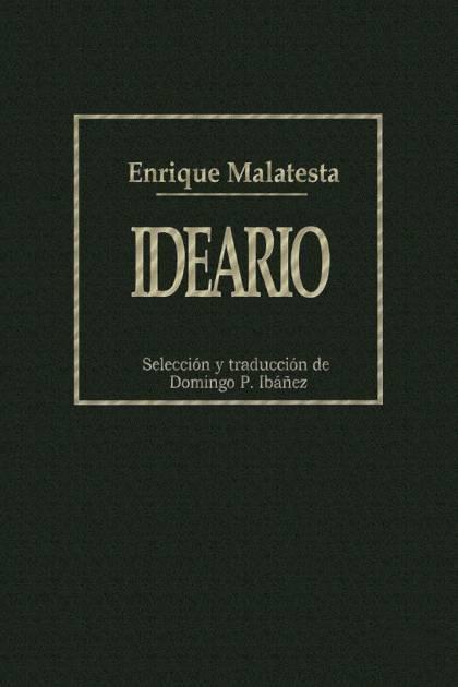 Ideario Enrique Malatesta » Pangea Ebook